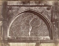 Perforated or carved (whichever you like to call it) stone window in Seedee Syed's Mosque, Ahmedabad.